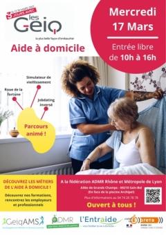 Découverte des métiers de l'aide à domicile