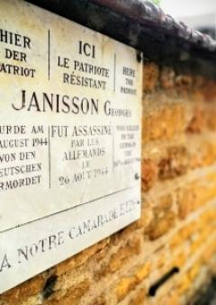 Cérémonie du souvenir hommage à Georges Janisson