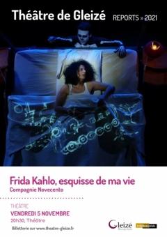 """Spectacle """"Frida Kahlo, esquisse de ma vie"""""""