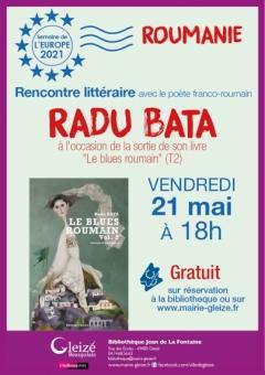 Rencontre littéraire avec Radu Bata