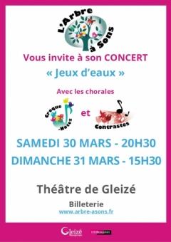 """Concert """"Jeux d'eaux"""""""