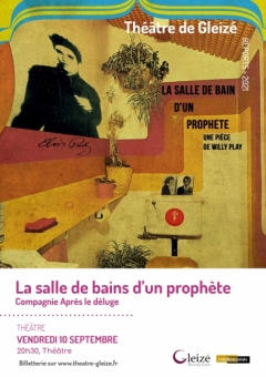 """Spectacle """"La salle de bains d'un prophète"""""""