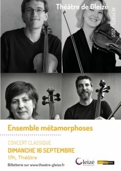 """Spectacle """"Ensemble métamorphoses"""""""