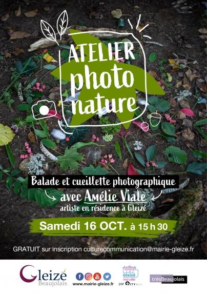 Atelier photo nature