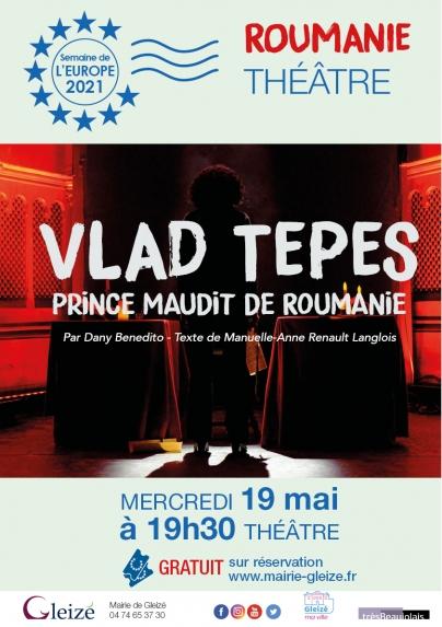 """Théâtre """"Vlad Tepes, prince maudit de roumanie"""""""