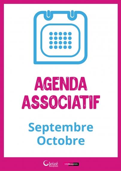 Agenda associatif septembre/octobre