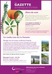 La Gazette - Printemps 2017 Gleizé | Bibliothèque