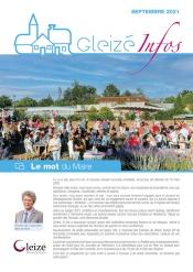 Gleizé Infos septembre 2021