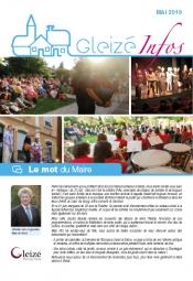 Gleizé Infos  mai 2019