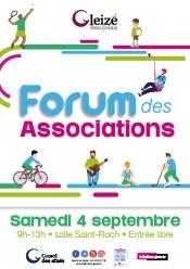 Tract Forum des associations 4 septembre 2021