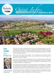 Gleizé Infos Septembre 2017