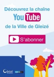 La mairie de Gleizé maintenant sur YouTube