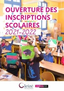 Ouverture des inscriptions scolaires 2021-2022
