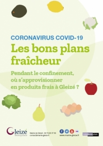 Coronavirus COVID-19, Les bons plans fraîcheur