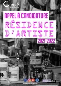 Appel candidature  - résidence d'artiste