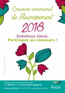Concours communal de Fleurissement 2018