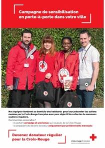 Campagne sensibilisation Croix-Rouge française
