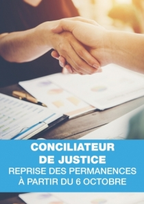 Conciliatrice de justice