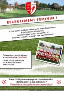 Equipe féminine de football