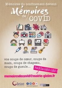 """Gleizé collecte """"les Mémoires de COVID"""""""