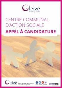 Appel à candidature CCAS