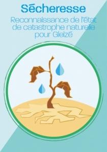 Arrêté interministériel sécheresse pour Gleizé
