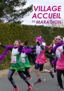 Village accueil du Marathon : les images