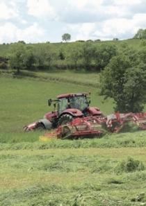 Calamités agricoles, sécheresse 2018 sur prairies