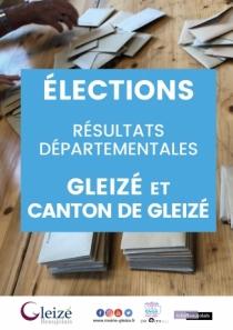 Elections départementales - Résultats Gleizé et Canton de Gleizé
