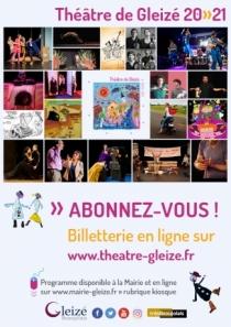 Théâtre de Gleizé : Abonnez-vous !