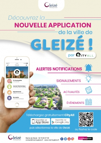 Gleizé lance son appli mobile !