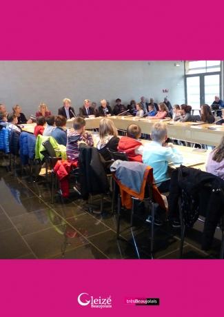 Les nouveaux élus du Conseil municipal d'enfants