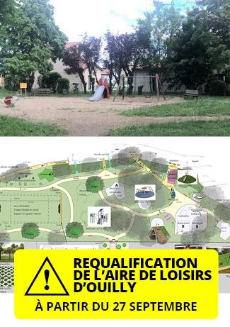 Rénovation de l'aire de loisirs d'Ouilly